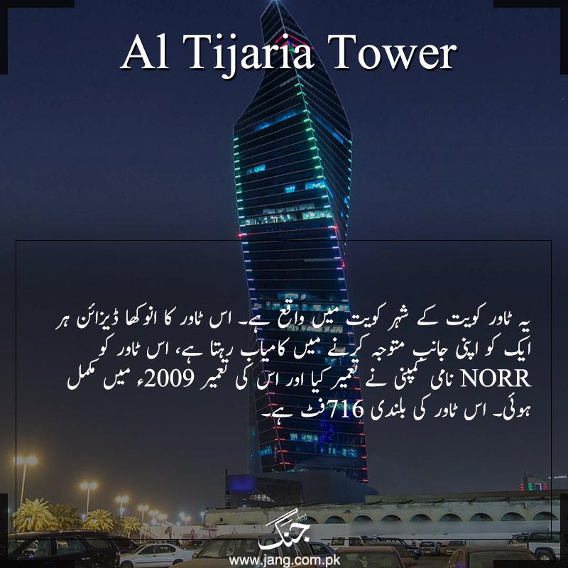 Al-tijaria Tower Kuwait
