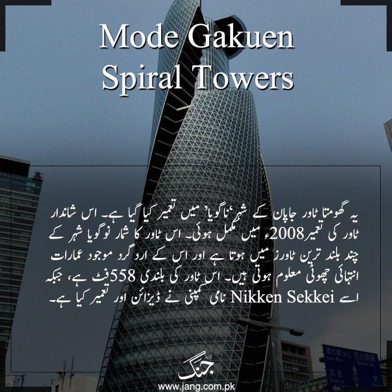 Mode Gakuen Spiral Towers Japan