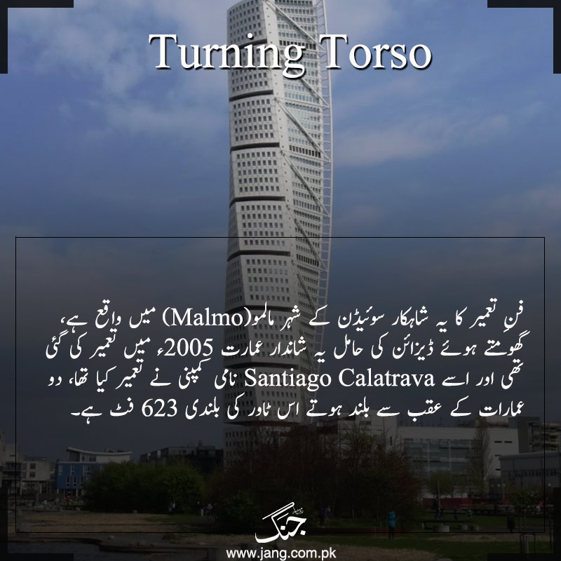 Turning Torso Malmo Sweden