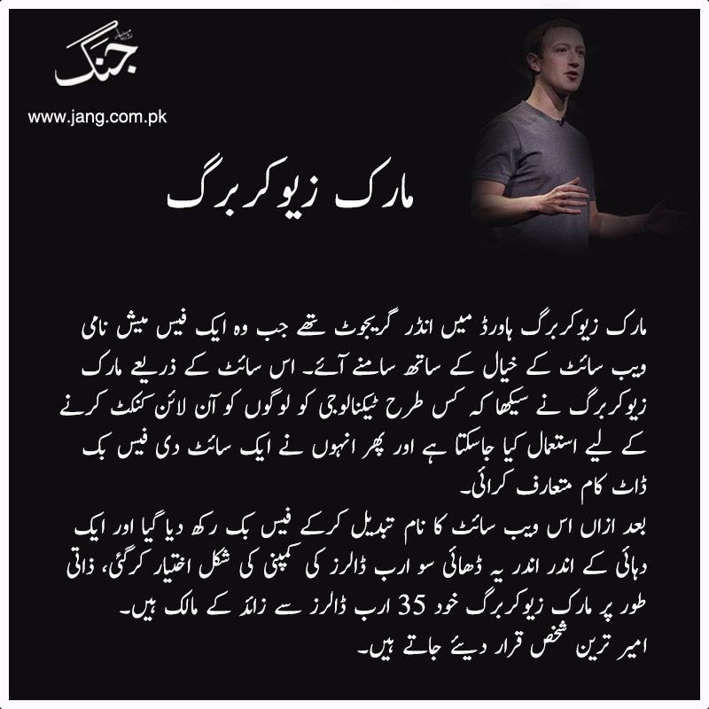 Mark Zuckerberg founder of Facebook