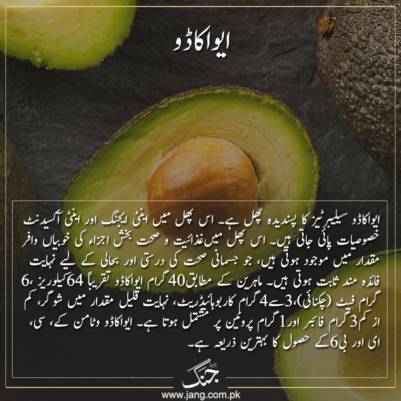 Avocado is a source of anti oxidant