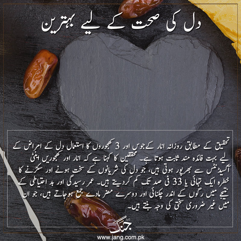 Dates are best for preventing heart problems