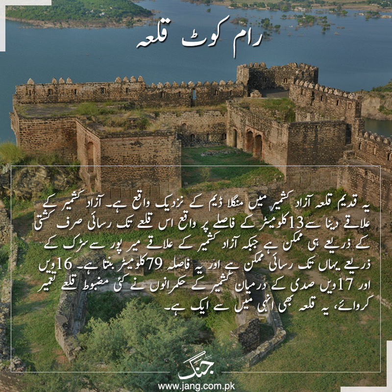Historical forts of Pakistan Ram kot Qila