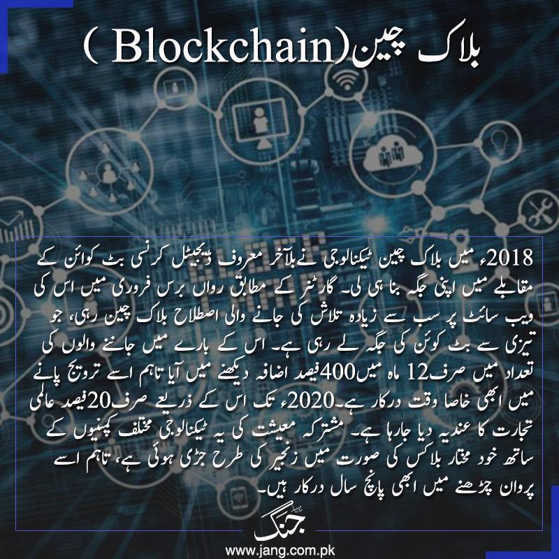 Block chain