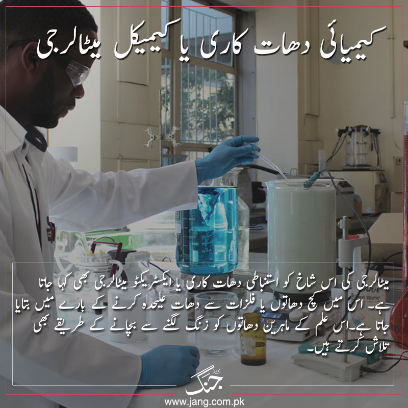 Study of Chemical Metallurgy
