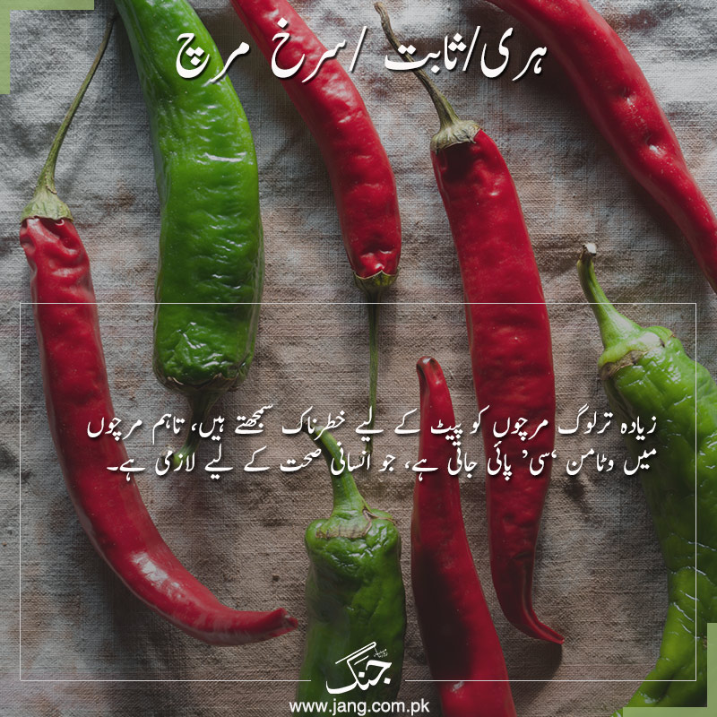 Eating Green and red chili will boost your metabolism