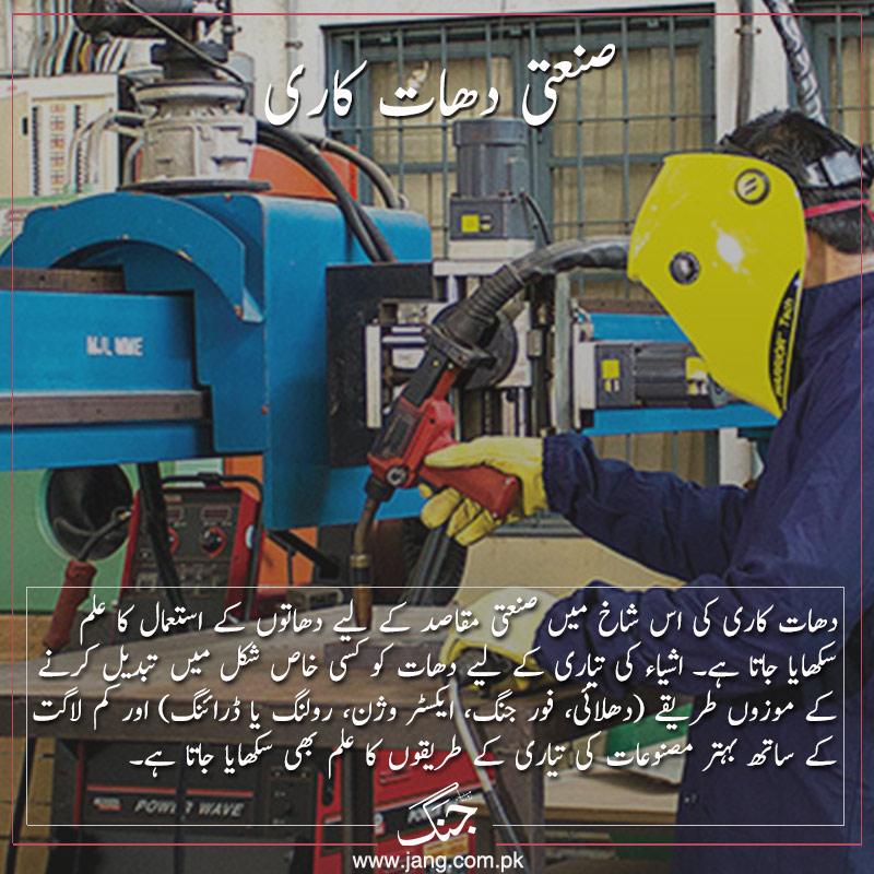 Study of Industrial metallurgy