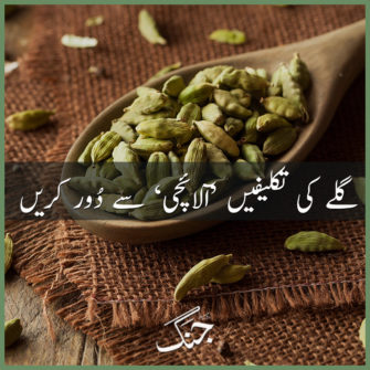cardamom - the cure for soar throat