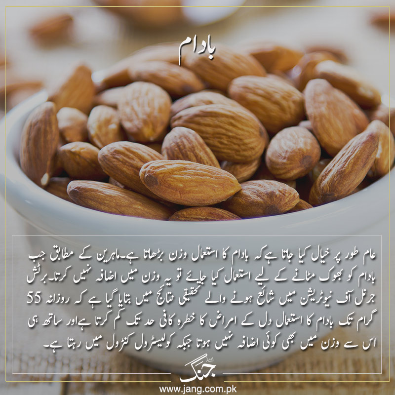almonds help you reduce fat