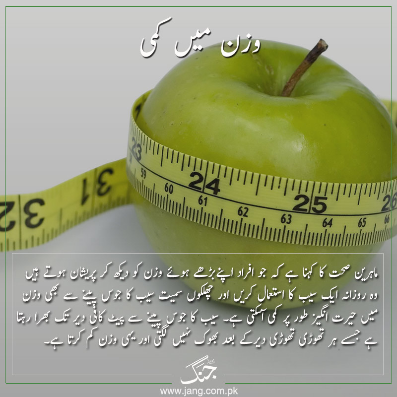 Apple peel provides for weight loss