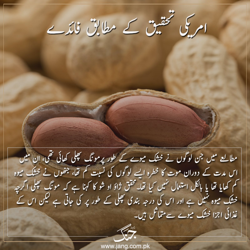 benefits of peanuts based on american research