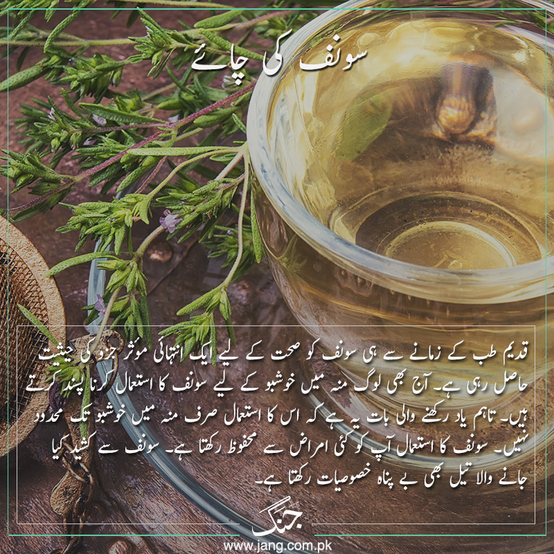 enhance your beauty with-fennel tea
