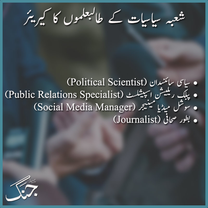 Career in politics table