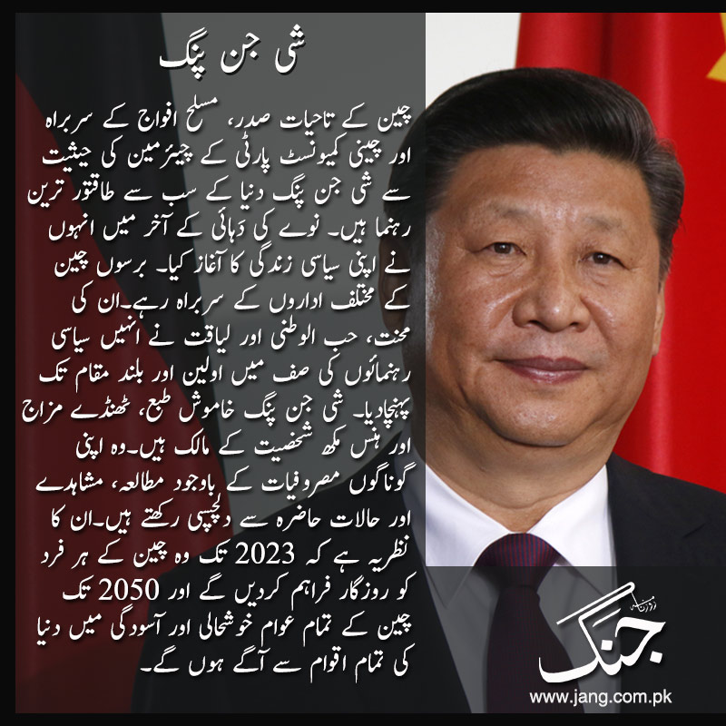Xi Jinping power player in the field of world politics