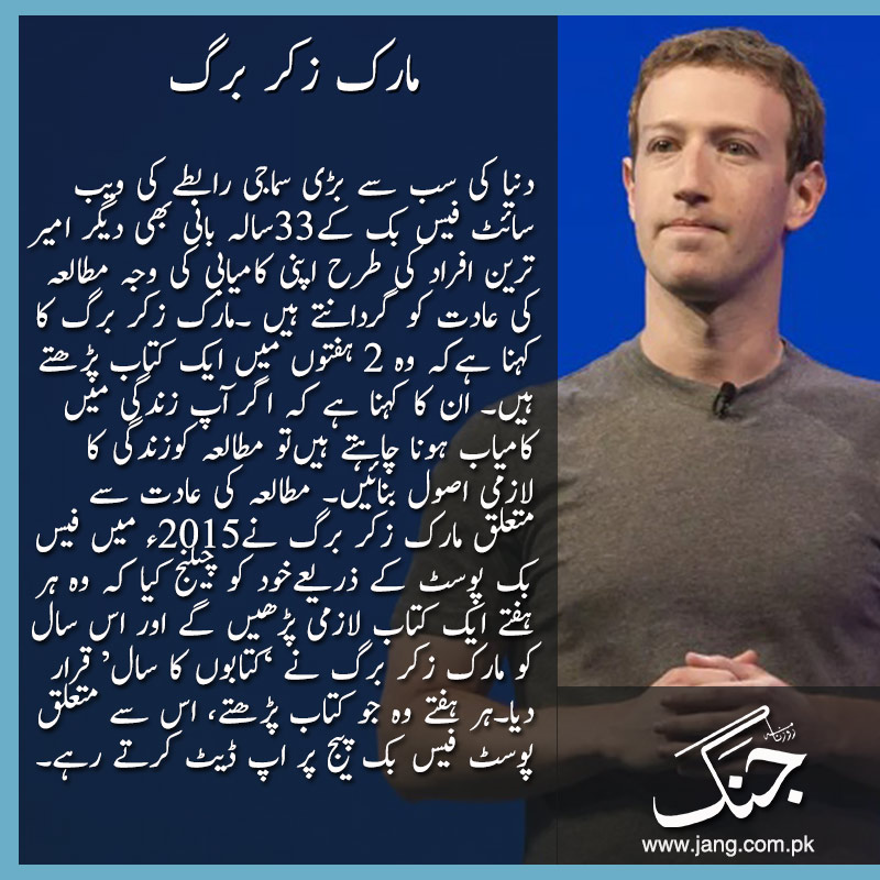Mark zuckerberg Inspirational stories behind world's richest people