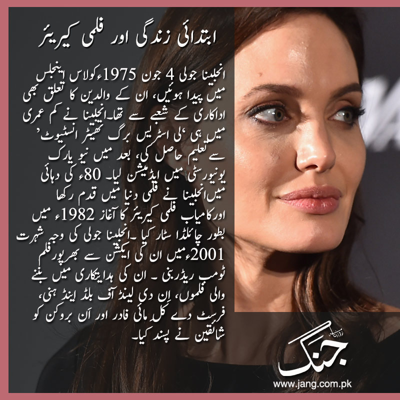 Film career of angelina jolie