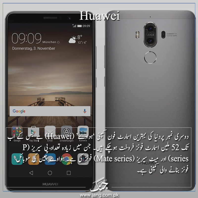 Second: Huawei